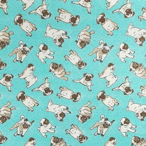 Tricoline Buldogue Francês 100% algodão - valor referente a 0,50 cm x 1,50 cm