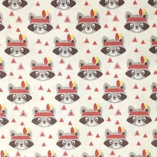 Tricoline Gaxinim 100% algodão - cada unid. 0,50cm x 1,50m