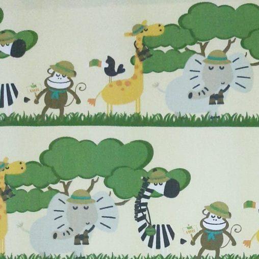 Tricoline Safári Tiras 100% algodão - valor referente a 50 cm x 1,50 mt