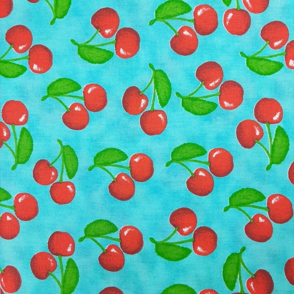 Tricoline Cereja - 100% algodão - valor referente a 50 cm x 1,50 cm