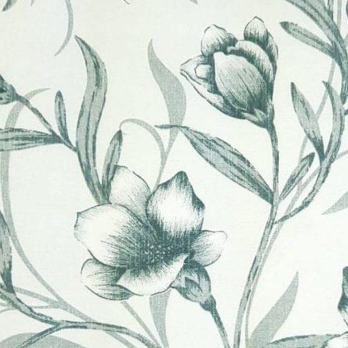 Gorgurinho Flor Cinza - cada unid. 0,50cm x 1,47m