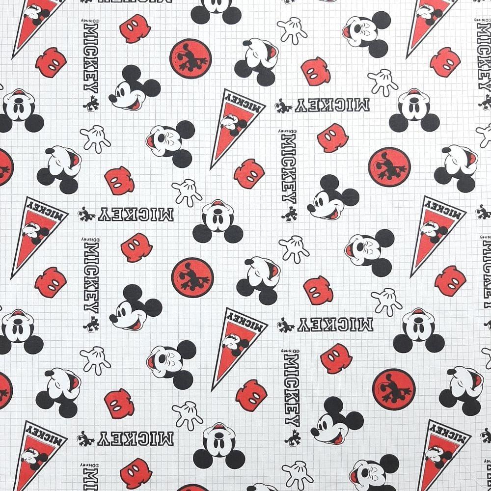 Tricoline Mickey Bandeiras - Fernando Maluhy -100% algodão - valor referente a 50 cm x 1,50 cm