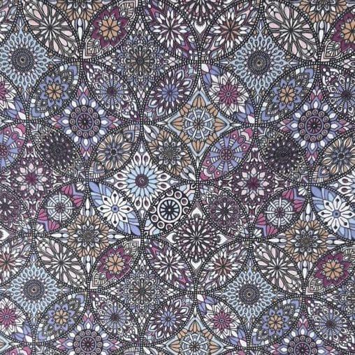 Tricoline Mandala Vitral - valor referente a 0,50 cm x 1,50 cm