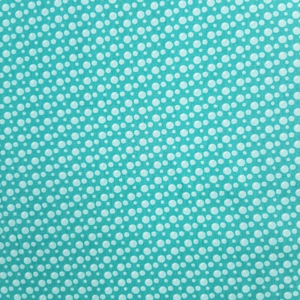 Tricoline Fabricart Signature Bolhas - 100% algodão  - valor referente a 50 cm x 1,50 cm