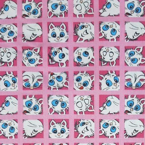 Tricoline Turma da Mônica Mingau 100% algodão - cada unid. 0,50cm x 1,50m