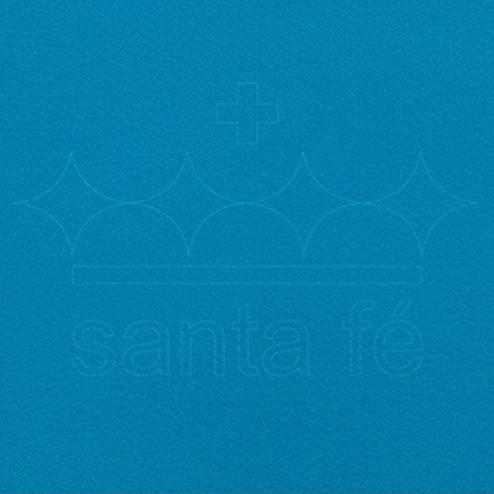 Feltro Santa Fé - 028 - Azul Turquesa 100% Poliester - Valor referente a 50 cm X 1,40 mt