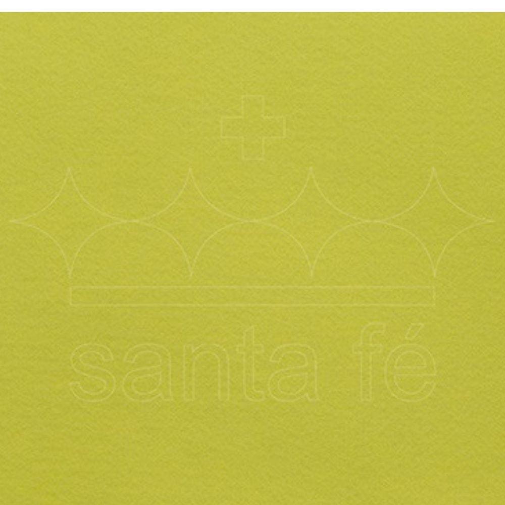Feltro Santa Fé - 032 - Candy Color Amarelo 100% Poliester - Valor referente a 50 cm X 1,40 mt