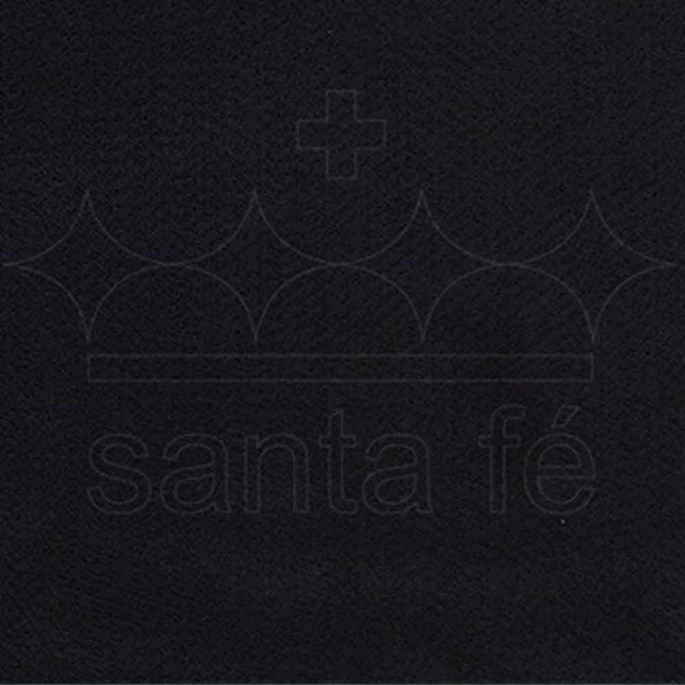 Feltro Santa Fé -034 - Preto 100% Poliester - Valor referente a 50 cm X 1,40 mt