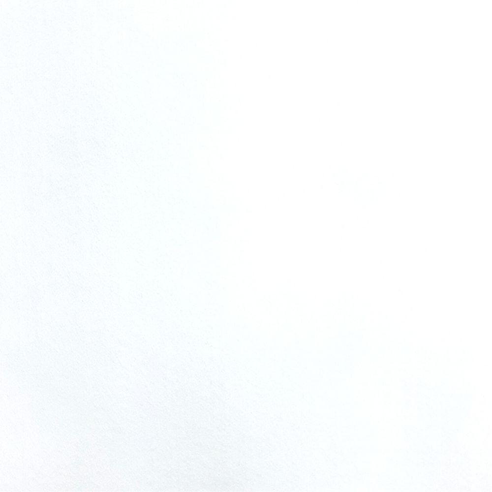 Feltro Santa Fé - 035 - Branco 100% Poliester - Valor referente a 50 cm X 1,40 mt