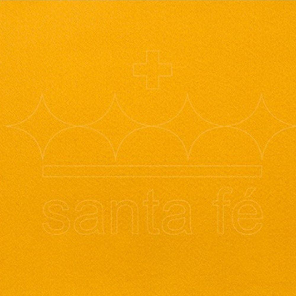 Feltro Santa Fé - 044 - Amarelo Ouro 100% Poliester - Valor referente a 50 cm X 1,40 mt
