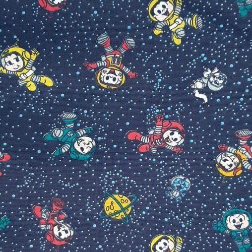 Tricoline Turma da Mônica Espaço 100% algodão - cada unid. 0,50cm x 1,50m
