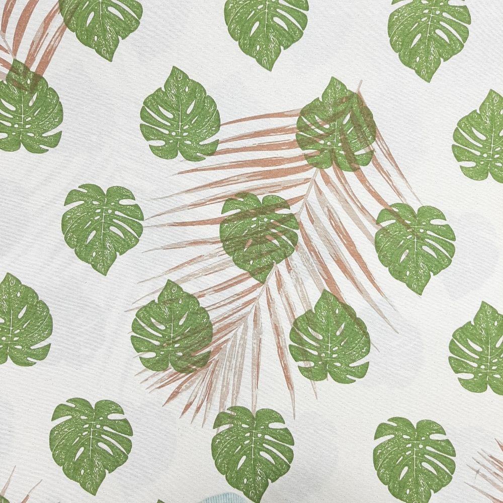 Jacquard Folhagem Costela de Adão - cada unid. 50cm x 1,40m