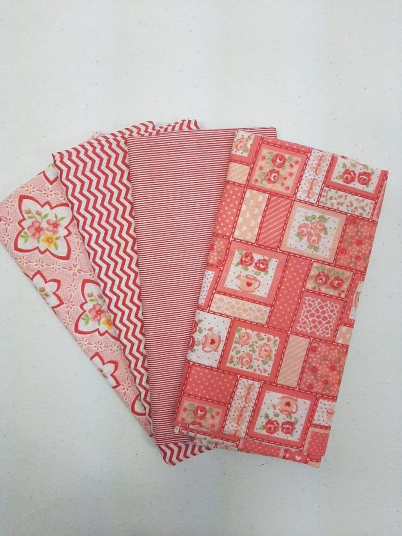 Kit Textolen Vermelinho- 4 unid. 0,50 x 0,70 cm