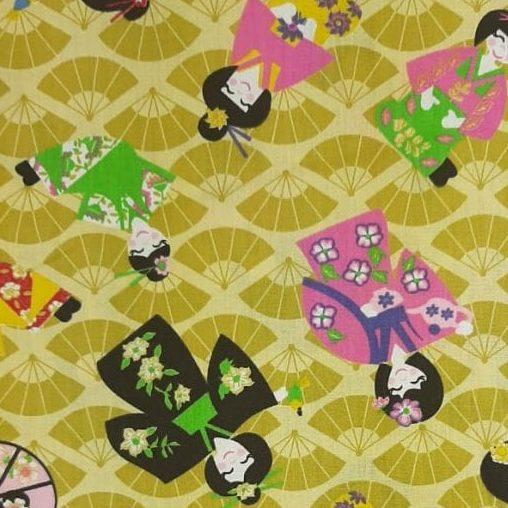 Tricoline Japonesas 100% algodão - cada unid. 0,50cm x 1,50m