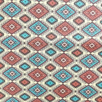 Tricoline Los Andes Bege 100% algodão - valor referente a 50 cm x 1,50 cm