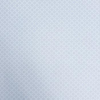 Tricoline Geométrico Cinza 100% algodão - valor referente a 0,50 cm x 1,50 cm