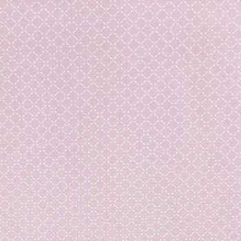 Tricoline Geométrico Rosa 100% algodão - valor referente a 0,50 cm x 1,50 cm