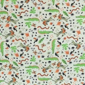 Tricoline Animais Silvestres - valor referente a 50 cm x 1,50 cm