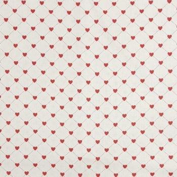 Tricoline Corações 100% algodão - cada unid. 0,50cm x 1,50m