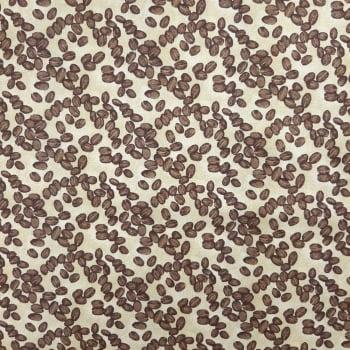 Tricoline Grão de Café 100% algodão - valor referente a 0,50 cm x 1,50 mt