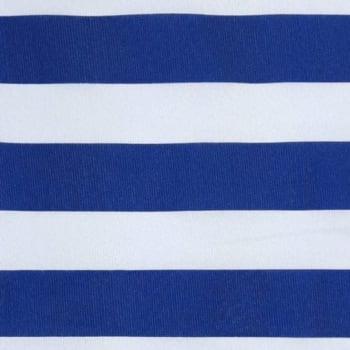 Gorgurinho Listras Grandes Azul - valor referente a 50 cm x 1,40 cm