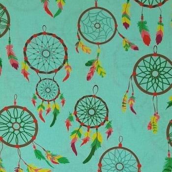 Tricoline Captador de Sonhos 100% algodão - Fernando Maluhy - cada unid. 0,50cm x 1,50m