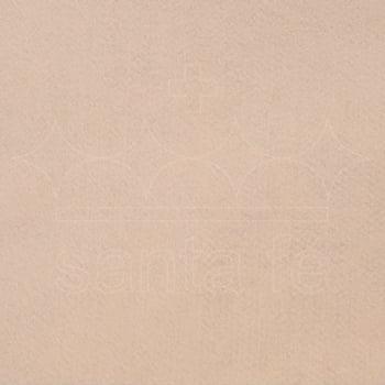 Feltro Santa Fé - 023 - Nude 100% Poliester - Valor referente a 50 cm X 1,40 mt