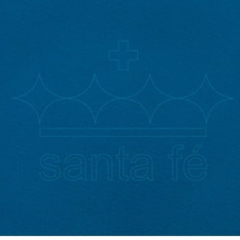 Feltro Santa Fé - 201 - Azul Mediterrâneo 100% Poliester - Valor referente a 50 cm X 1,40 mt