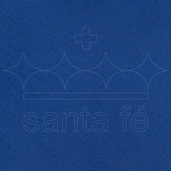 Feltro Santa Fé - 063 - Azul Noite 100% Poliester - Valor referente a 50 cm X 1,40 mt