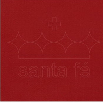 Feltro Santa Fé - 065 - Vermelho Noel 100% Poliester - Valor referente a 50 cm X 1,40 mt