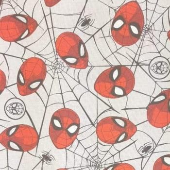 Tricoline Homem Aranha - Fernando Maluhy - 100% algodão - valor referente a 50 cm x 1,50 mt