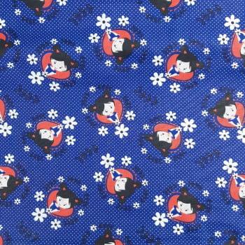 Tricoline Meninas 100% algodão - valor referente a 50 cm x 1,50 cm