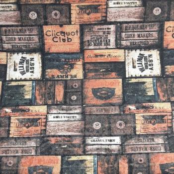Jacquard Fundo Caixote - cada unid. 0,50cm x 1,40mt