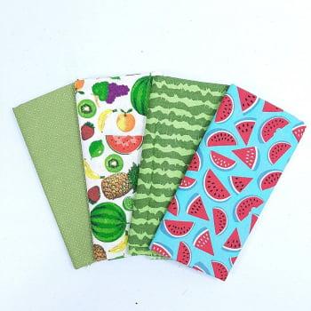 Kit Salada de Frutas - 4 unid. 50 x 70 cm