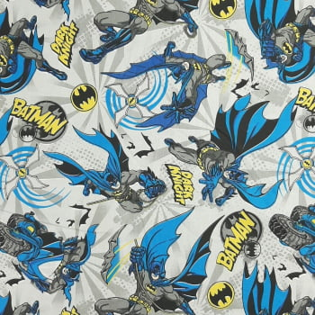 Tricoline Batman Dark Night 100% algodão - cada unid. 50cm x 1,50m