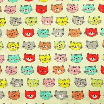 Tricoline Cat 4 - 100% algodão  - valor referente a 50 cm x 1,50 mt