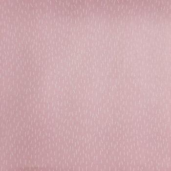Tricoline Signature Chuviscos Rosa 100% algodão - valor referente a 50 cm x 1,50 mt