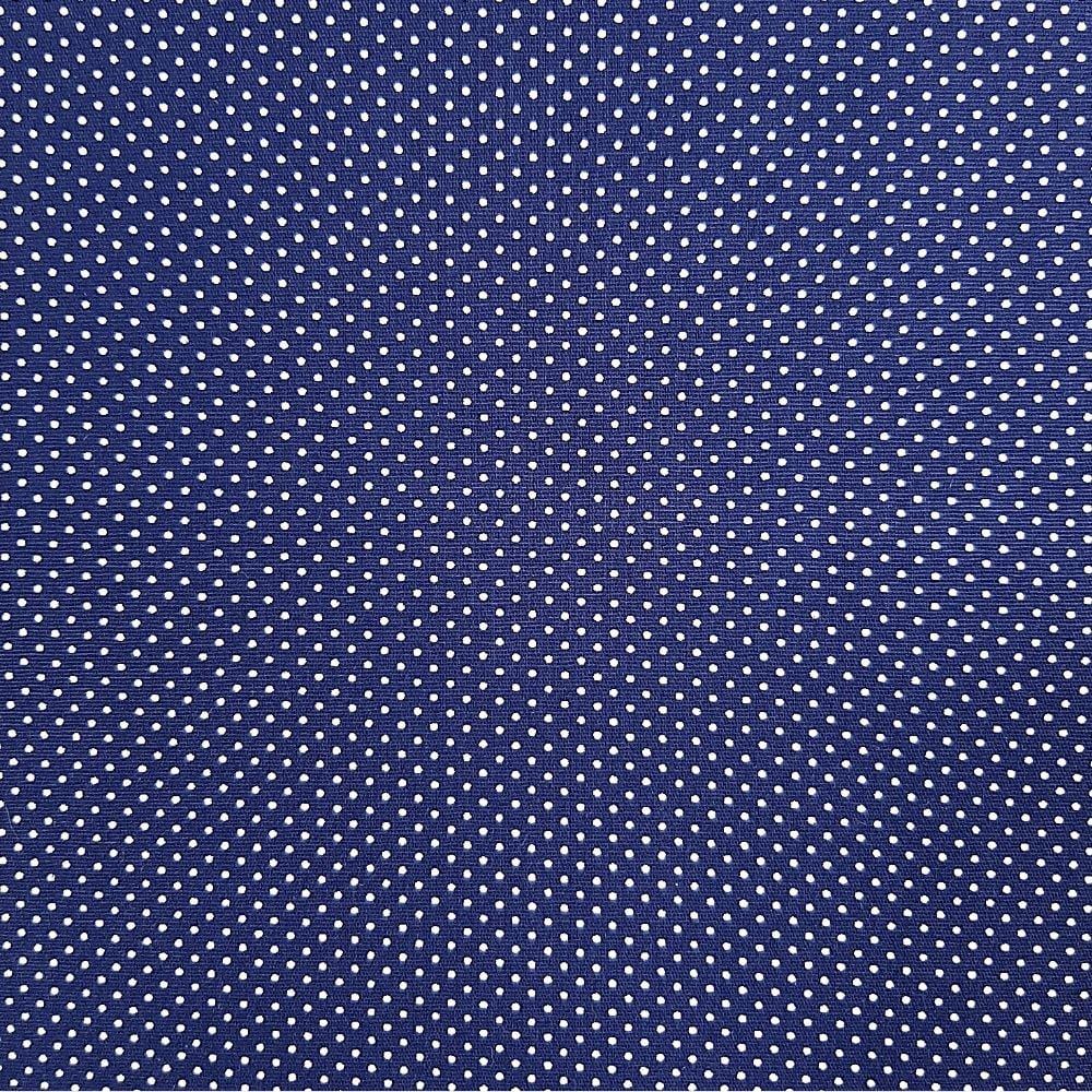 Tricoline Poá Micro Azul Marinho  - 100% Algodão - cada unid. 50cm x 1,50mt